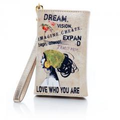 Papaya Art Dream iPhone Wallet