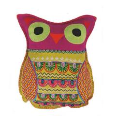 Felt Owl Pillow