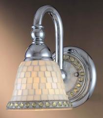 Piastrella Blown Glass Wall Sconce Lighting