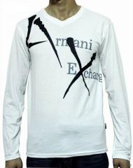 Armani Long Sleeve AX Tee Shirt
