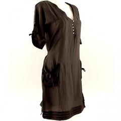 Organic Cotton/Silk Pocket Dress
