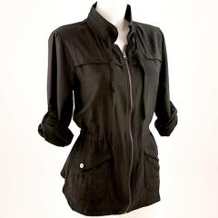 Organic Cotton/Silk Anorak Jacket