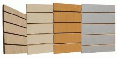 Slatwall Board With Shelves