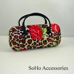 Leopard Silk Eyeglass Case
