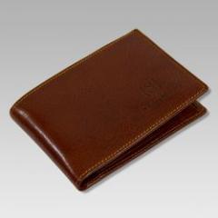 Marino Orlandi Italian Designer Cognac Leather
