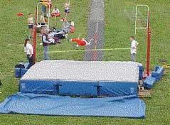 School Athletic Items High Jump / Pole Vault Pits