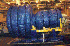 Civilian Jet Engine Shipping and Storage Covers