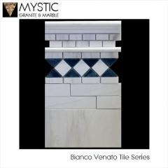 Bianco Venato Marble Tiles