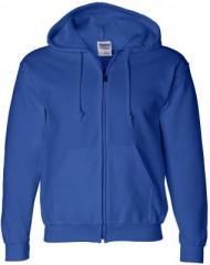 Ultra Full Zip Hoodie - Royal Blue