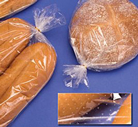 Polypropylene Micro-Perf Crusty Bread Bags On