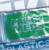 Green Pre-Op Meds Bags