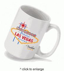 Personalized Vegas Wedding Party Coffee Mug