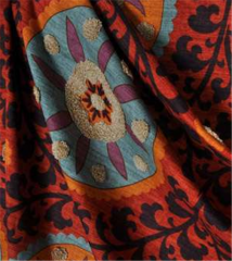 3 Park Tribal Thread Sunset Fabric