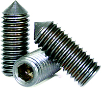 Socket Set Screws: Alloy Steel, Plain Finish