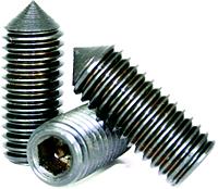 Socket Set Screws: Alloy Steel, Plain Finish