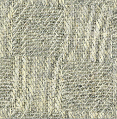 Grey/Natural Canton Flannel Woven Fabric