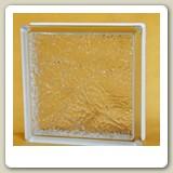 Ice Sshadow Wafer Glass Block