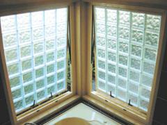 Opening Glass Block Windows