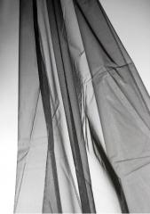 """Black Organza 54"""" x 3 yds Fabric"""