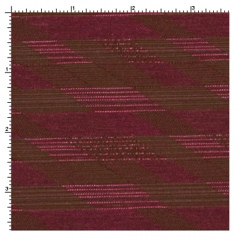 Parallel Blackberry Fabric