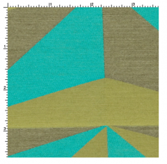 Optic Aquamarine Fabric