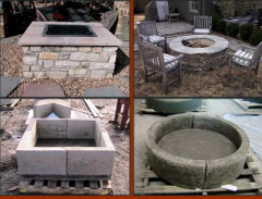 Stone Age Outdoor Fire Pit