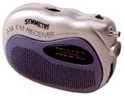 Pocket Radio With Flashlight