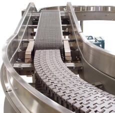"""""""Zone Touch"""" Zero Pressure Table Top Conveyor"""