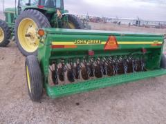 JD 450 Grain Drill with grass seed/Alfalfa slow