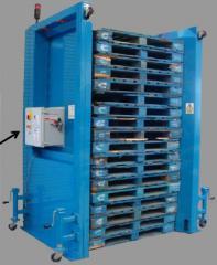 Auto Pallet Dispenser & Stacker