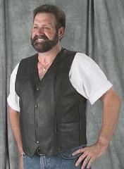 Classic Style Leather Vest