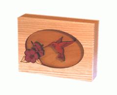 Hummingbird Dimensional Keepsake Urns
