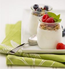 Verallia single serve yogurt glass jars