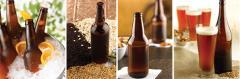Verallia glass beer bottles