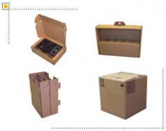 Corrugated containers