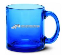 Cobalt Fashion Glass Mug