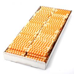 Wafer rolls - ORANGE SWIRL