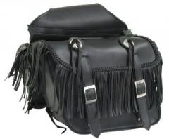 Motorcycle Throwover Zip Off Saddlebags with