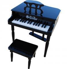 BABY GRAND BLACK PIANO