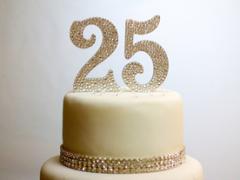 Zebra Print 16 Cake Topper