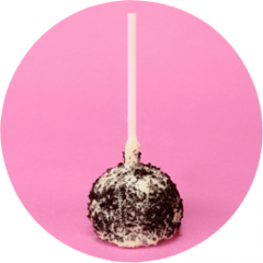 Cookies and Cream Cake Pops
