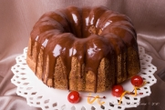 Chocolate Grand Marnier Bundt Cake