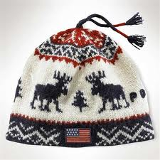 Аlpine reindeer hat