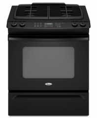 Self-Cleaning Slide-In Gas Range