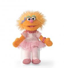 Sesame Street Zoe Mini Beanbag Plush Toy