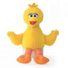 Sesame Street Big Bird Mini Beanbag Plush Toy