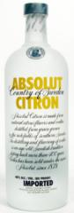Absolut Citron Vodka