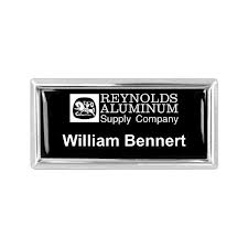 Aluminum Badge, Engraved (1 To 5 Square Inch) Ale