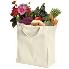 Port Authority 100% Organic Grocery Tote Bag