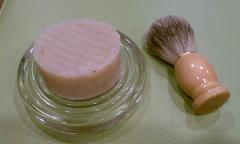 Shaving Soap & Badger Hair Brush